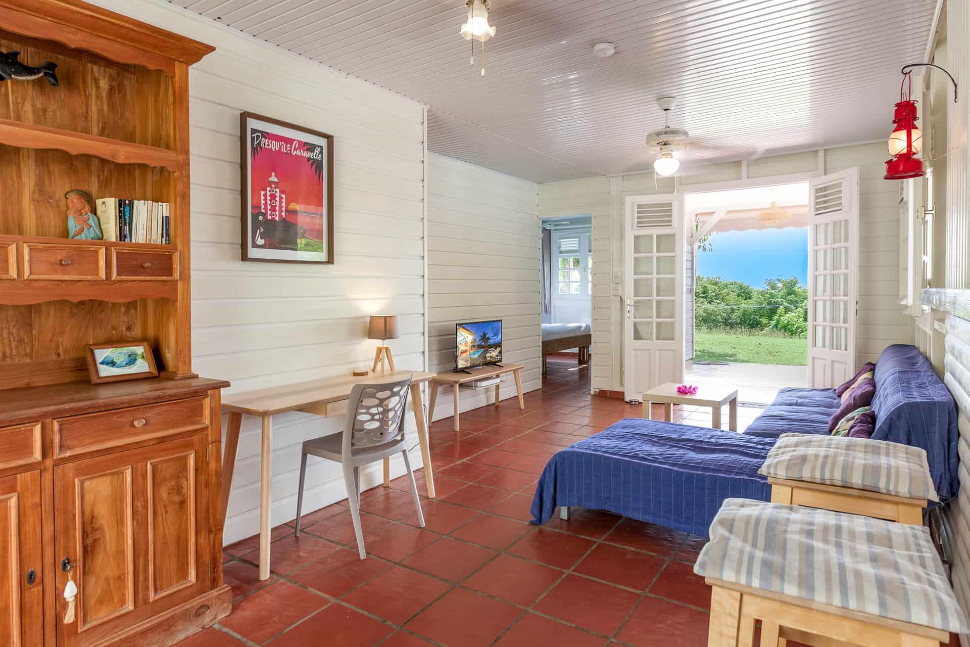 Villa vue sauvage - location villa martinique